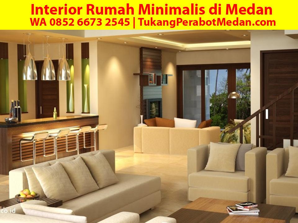 Interior Rumah Minimalis di Medan